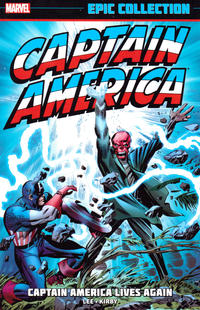 Cover Thumbnail for Captain America Epic Collection (Marvel, 2014 series) #1 - Captain America Lives Again