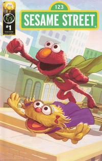 Cover Thumbnail for Sesame Street (Ape Entertainment, 2013 series) #1 [Super Power Cover]