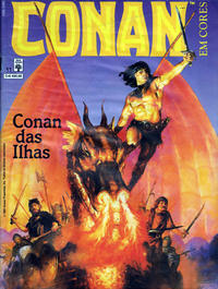 Cover Thumbnail for Espada Selvagem de Conan em Cores (Editora Abril, 1987 series) #11