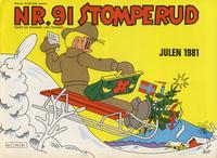 Cover Thumbnail for Nr. 91 Stomperud (Ernst G. Mortensen, 1938 series) #1981