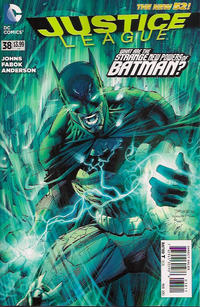 Cover Thumbnail for Justice League (DC, 2011 series) #38