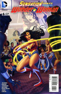Cover Thumbnail for Sensation Comics Featuring Wonder Woman (DC, 2014 series) #6