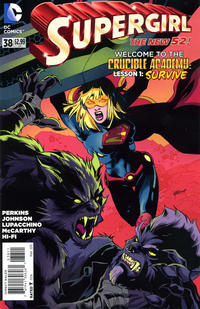 Cover Thumbnail for Supergirl (DC, 2011 series) #38 [Direct Sales]