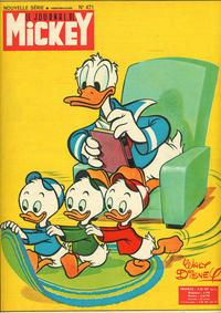 Cover Thumbnail for Le Journal de Mickey (Hachette, 1952 series) #471