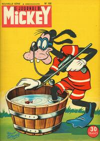 Cover Thumbnail for Le Journal de Mickey (Disney Hachette Presse, 1952 series) #108