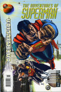 Cover Thumbnail for Adventures of Superman (DC, 1987 series) #1,000,000 [Newsstand]