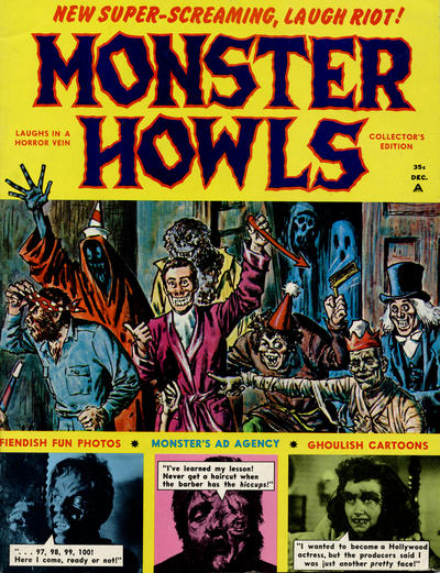 Cover for Monster Howls (Humor-Vision, 1966 series) #1