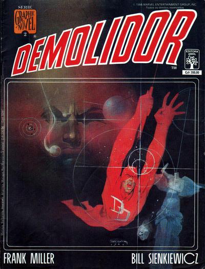 Cover for Graphic Novel (Editora Abril, 1988 series) #2 - Demolidor - Amor e Guerra
