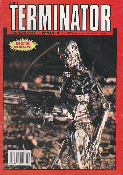 Cover for The Terminator (Trident, 1991 series) #2