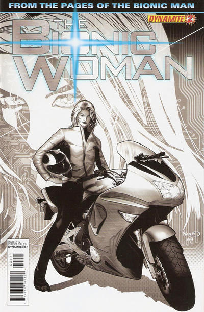 Cover for The Bionic Woman (Dynamite Entertainment, 2012 series) #2
