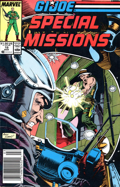 Cover for G.I. Joe Special Missions (Marvel, 1986 series) #19 [Direct Edition]