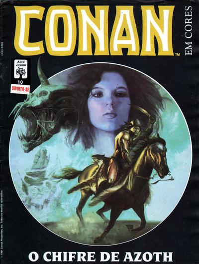 Cover for Espada Selvagem de Conan em Cores (Editora Abril, 1987 series) #10