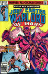 Cover for John Carter Warlord of Mars (Marvel, 1977 series) #28 [British Price Variant]