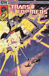 Cover Thumbnail for Transformers: Regeneration One (2012 series) #90 [Cover RI - Incentive Geoff Senior Variant]