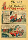 Cover for The Adventures of Peter Wheat (Peter Wheat Bread and Bakers Associates, 1948 series) #14 [Sterling]