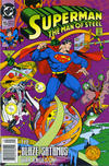 Cover for Superman: The Man of Steel (DC, 1991 series) #15 [Newsstand]