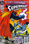 Cover for Superman: The Man of Steel (DC, 1991 series) #24 [Newsstand]
