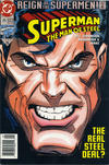 Cover Thumbnail for Superman: The Man of Steel (1991 series) #25 [Newsstand Edition]