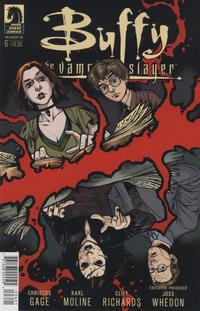 Cover Thumbnail for Buffy the Vampire Slayer Season 10 (Dark Horse, 2014 series) #6 [Rebekah Isaacs Variant Cover]