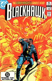 Cover Thumbnail for Blackhawk (DC, 1957 series) #255 [Direct]