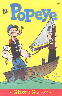 Cover Thumbnail for Classic Popeye (IDW, 2012 series) #30