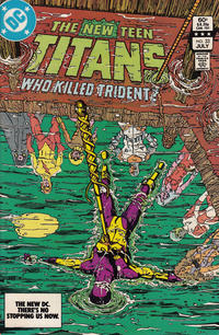 Cover Thumbnail for The New Teen Titans (DC, 1980 series) #33 [Direct-Sales]