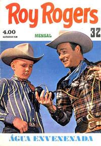 Cover Thumbnail for Roy Rogers e o Trigger (Suplemento ao Mundo de Aventuras) (Agência Portuguesa de Revistas, 1972 series) #32