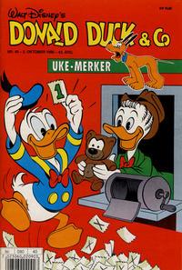 Cover Thumbnail for Donald Duck & Co (Hjemmet / Egmont, 1948 series) #40/1990