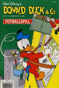 Cover Thumbnail for Donald Duck & Co (Hjemmet / Egmont, 1948 series) #42/1990