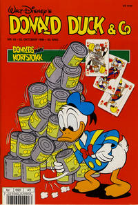 Cover Thumbnail for Donald Duck & Co (Hjemmet / Egmont, 1948 series) #43/1990