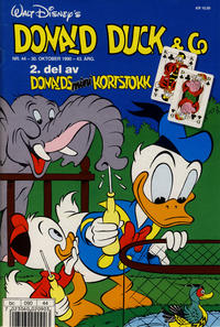 Cover Thumbnail for Donald Duck & Co (Hjemmet / Egmont, 1948 series) #44/1990