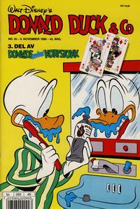 Cover Thumbnail for Donald Duck & Co (Hjemmet / Egmont, 1948 series) #45/1990