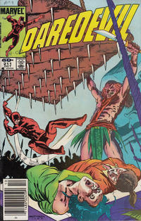 Cover Thumbnail for Daredevil (Marvel, 1964 series) #211 [Newsstand]