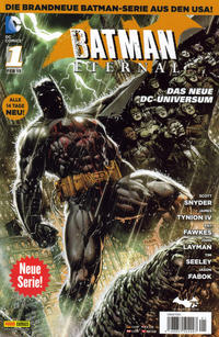 Cover Thumbnail for Batman Eternal (Panini Deutschland, 2014 series) #1