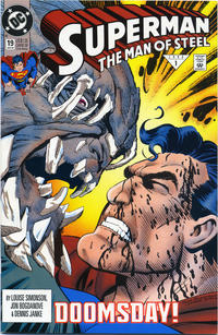 Cover Thumbnail for Superman: The Man of Steel (DC, 1991 series) #19 [Direct Sales]