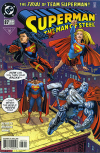 Cover Thumbnail for Superman: The Man of Steel (DC, 1991 series) #87 [Direct Sales]