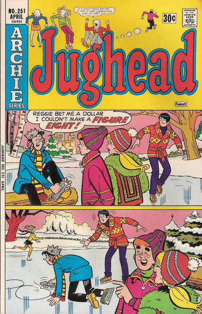 Cover for Jughead (Archie, 1965 series) #251