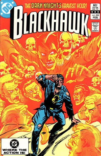 Cover for Blackhawk (DC, 1957 series) #255 [Newsstand]