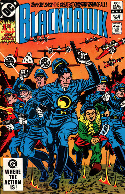 Cover for Blackhawk (DC, 1957 series) #251 [Direct Sales Variant]