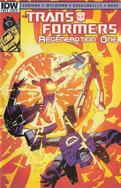 Cover for Transformers: Regeneration One (IDW, 2012 series) #89 [Cover A - Andrew Wildman]
