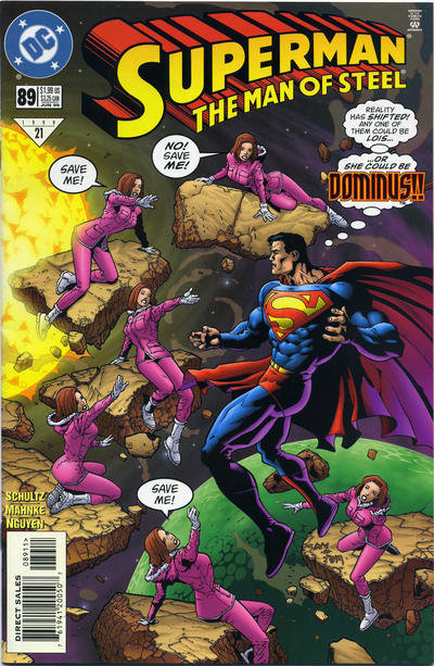 Cover for Superman: The Man of Steel (DC, 1991 series) #89 [Direct Sales]