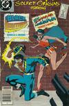 Cover for Secret Origins (DC, 1986 series) #26 [Newsstand]