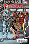 Cover Thumbnail for Superior Iron Man (2015 series) #4 [Salvador Larroca Welcome Home Variant]