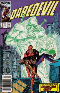 Cover Thumbnail for Daredevil (Marvel, 1964 series) #243 [Newsstand]