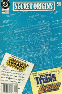Cover Thumbnail for Secret Origins (DC, 1986 series) #46 [Newsstand]