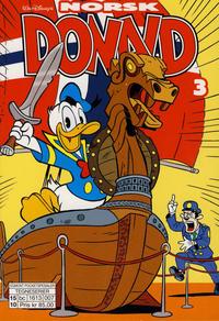 Cover Thumbnail for Norsk Donald (Hjemmet / Egmont, 2014 series) #3