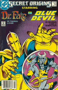 Cover Thumbnail for Secret Origins (DC, 1986 series) #24 [Newsstand]