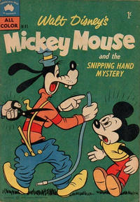 Cover Thumbnail for Walt Disney's Mickey Mouse (W. G. Publications; Wogan Publications, 1956 series) #41