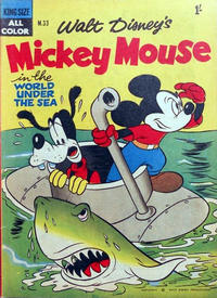 Cover Thumbnail for Walt Disney's Mickey Mouse (W. G. Publications; Wogan Publications, 1956 series) #33
