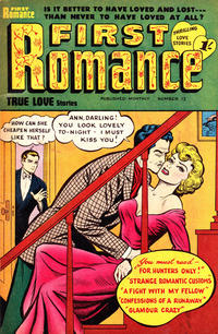 Cover Thumbnail for First Romance (Magazine Management, 1952 series) #12